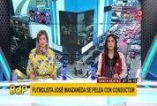 Santa Beatriz: futbolista José Manzaneda y conductor llegaron a acuerdo