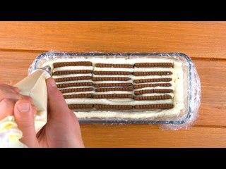 Com um pouco de biscoito você cria a sobremesa mais rápida de todos os tempos