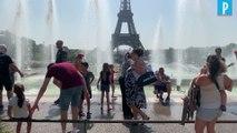 Canicule à Paris : tous les moyens sont bons pour se rafraîchir