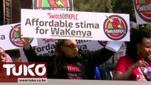 Demonstrations against corruption in Kenya Power | Tuko TV