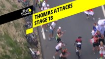 Thomas Attacks  - Étape 18 / Stage 18 - Tour de France 2019