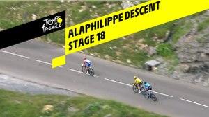 Alaphilippe Descent - Étape 18 / Stage 18 - Tour de France 2019