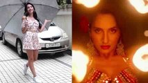 Nora Fatehi looks perfect in  floral print crop top & shorts; Watch video | Boldsky