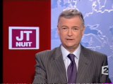 France 2 - 1er Juin 2007 - Teaser, JT Nuit (Jean-Claude Renaud), météo (Laurent Romejko), jingle pub