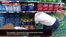 Canicule : le maire de Guéret incite l'achat d'eau en bouteille et interroge (vidéo)