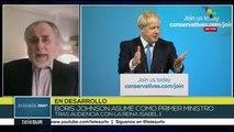 Coloane: Boris Johnson exacerba el tema brexit