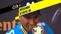 Résumé - Étape 18 - Tour de France 2019
