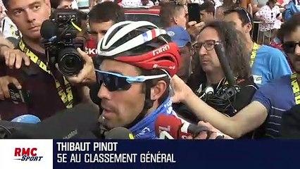 """Tour de France : """"Je n'étais pas dans une grande journée"""" concède Pinot"""