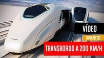 [CH] Transbordo de tren en marcha a 200 Km/h