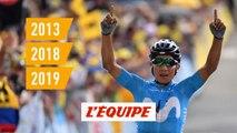 2013-2018-2019, le triptyque de Nairo Quintana - Cyclisme - Tour de France