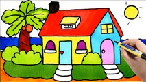 Kids Painting House - Draw and Color My Room, Tree, Window