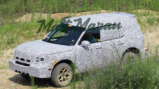 2021 Ford Adventurer (Baby Bronco) SPIED for the First Time!