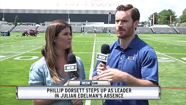 Phillip Dorsett Steps Up As Leader In Julian Edelman Absence