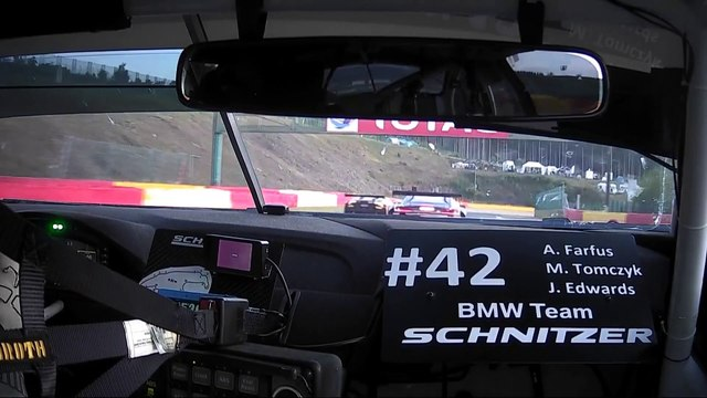 ONBOARD CAR 42 - LIVE THROUGH EAU ROUGE. - TOTAL 24hrs SPA 2019