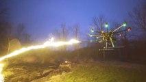 Un drone lance-flamme vient de sortir