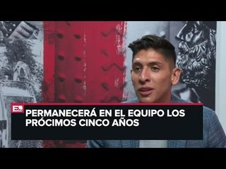 Presentan a Edson Álvarez con el Ajax
