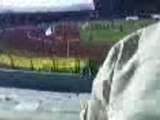 supporters de la jsk aprés la Fin du match  contre saida 1