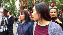 Quand de jolies demoiselles se font surprendre en train de voler - pickpoket à Londres