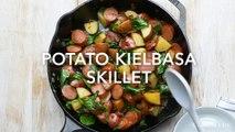 Potato Kielbasa Skillet