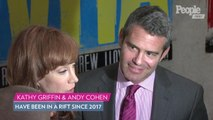 Andy Cohen Says Kathy Griffin Has 'Made Up A Lot About' Him: 'I Hope She Finds Some Peace'