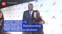Lamar Odom Is Trying To Reconnect With Khloe K