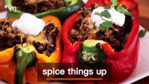 Leftover Ground Beef? Try These Yummy Taco Stuffed Peppers