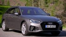 Audi A4 Avant TDI Design in Terra Grey