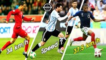 TOP 10 Fastest Footballers World Cup 2018