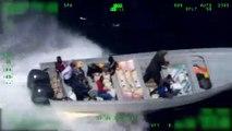 U.S. Coast Guard Stops Go-Fast Cocaine Boat (2019)