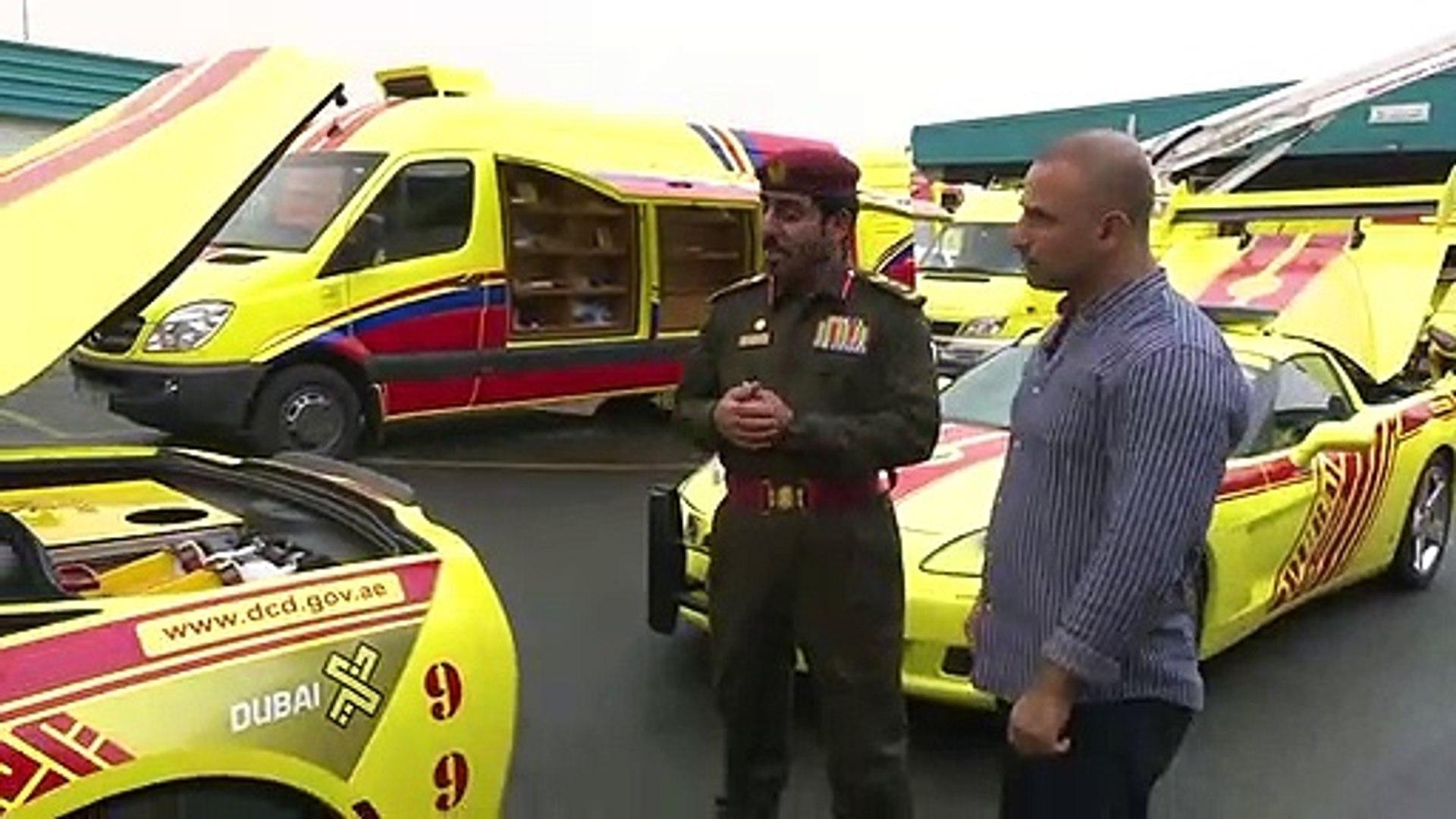 سيارات حديثة في دبي تحتوي على تقنيات متطورة لإطفاء الحرائق بمختلف أنواعها