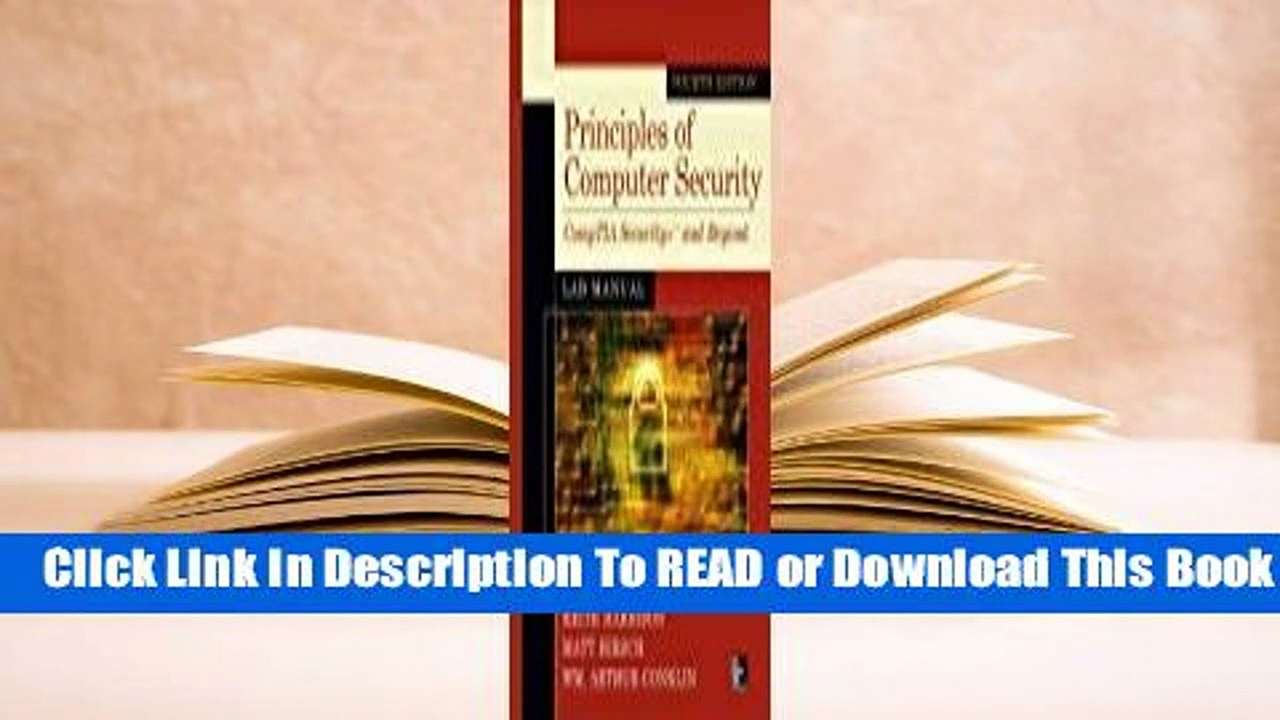 Online Principles of Computer Security Lab Manual, Fourth Edition  For Full
