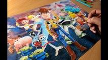 Drawing Toy Story 4 - Timelapse - Artology