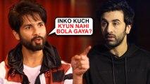 Shahid Kapoor ANGRY Reaction On Ranbir Kapoor's Film Sanju | Sanjay Dutt Biopic