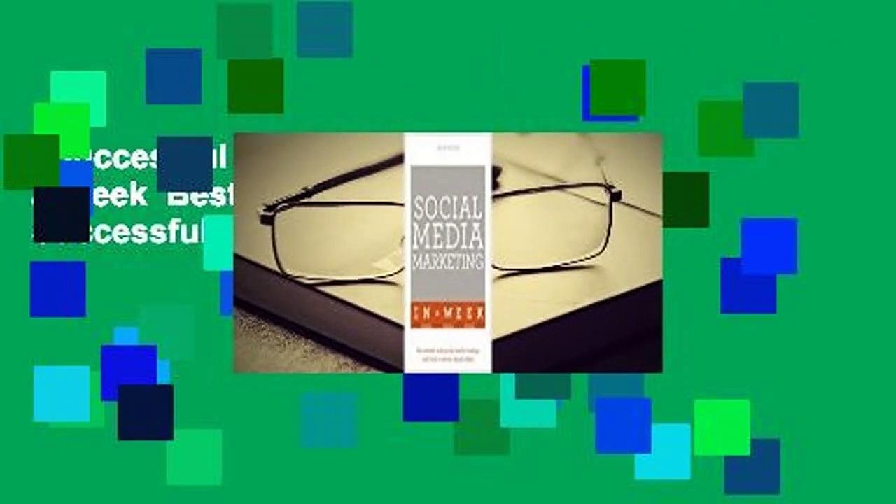 Successful Social Media Marketing in a Week  Best Sellers Rank : #1  Successful Social Media