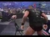 Randy Orton gives Cena an RKO