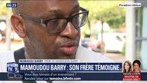 """""""S'il n'y avait pas eu ces mots, peut-être qu'il serait là aujourd'hui."""" Le frère de Mamoudou Barry dénonce le caractère raciste dans son meurtre"""