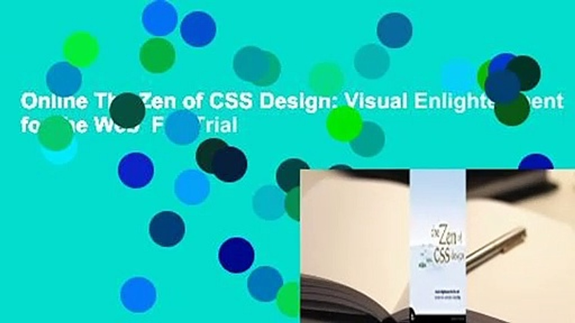 Online The Zen of CSS Design: Visual Enlightenment for the Web For Trial