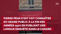 Le journaliste d'investigation Pierre Péan est mort à l'âge de...