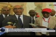 ORTM/Audience des membres de la Fédération des organisations patronales de l'Afrique de l'ouest avec le Président de la République, Ibrahim Boubacar Keïta