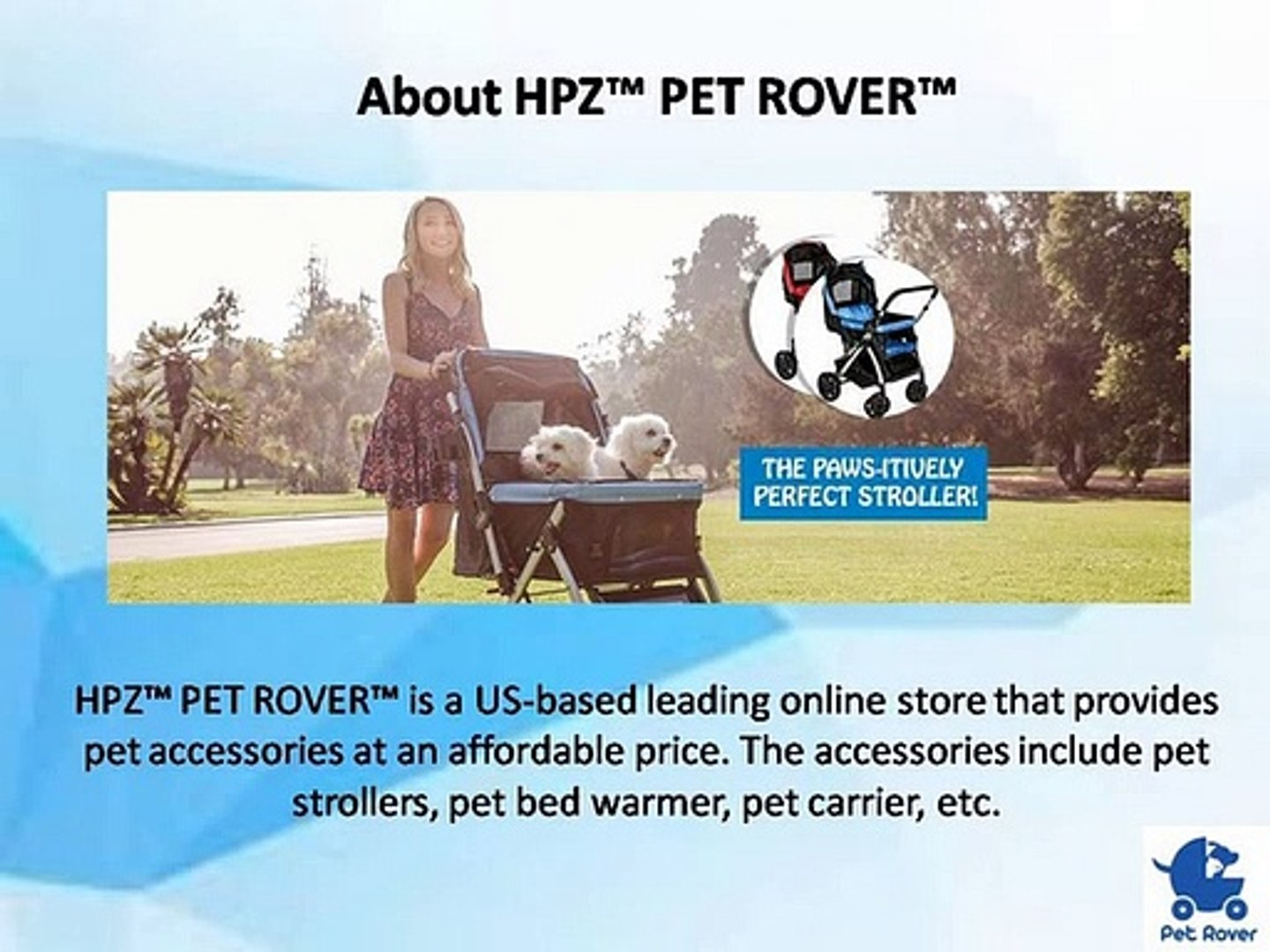 Get affordable and quality Pet Stroller provided by HPZ Pet Rover