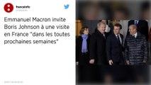 Emmanuel Macron et Boris Johnson s'entretiendront à propos du Brexit dans les prochaines semaines