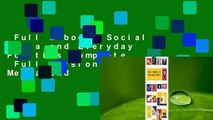 Full E-book  Social Media and Everyday Politics Complete   Full version  Social Media and