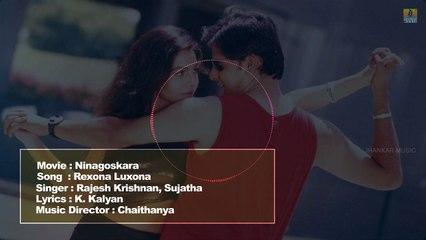 Ninagoskara - Kannada Movie | Rexona Luxona - Lyrical Video Song | Darshan | Jhankar Music