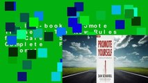 Full E-book  Promote Yourself: The New Rules for Career Success Complete   Full version  Promote