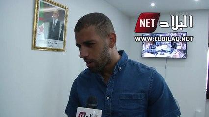 Slimani réagit à la polémique qu'il a suscité lors de la remise du trophée
