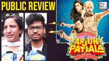 Arjun Patiala Public Review |  Diljit Dosanjh, Kriti Sanon and Varun Sharma