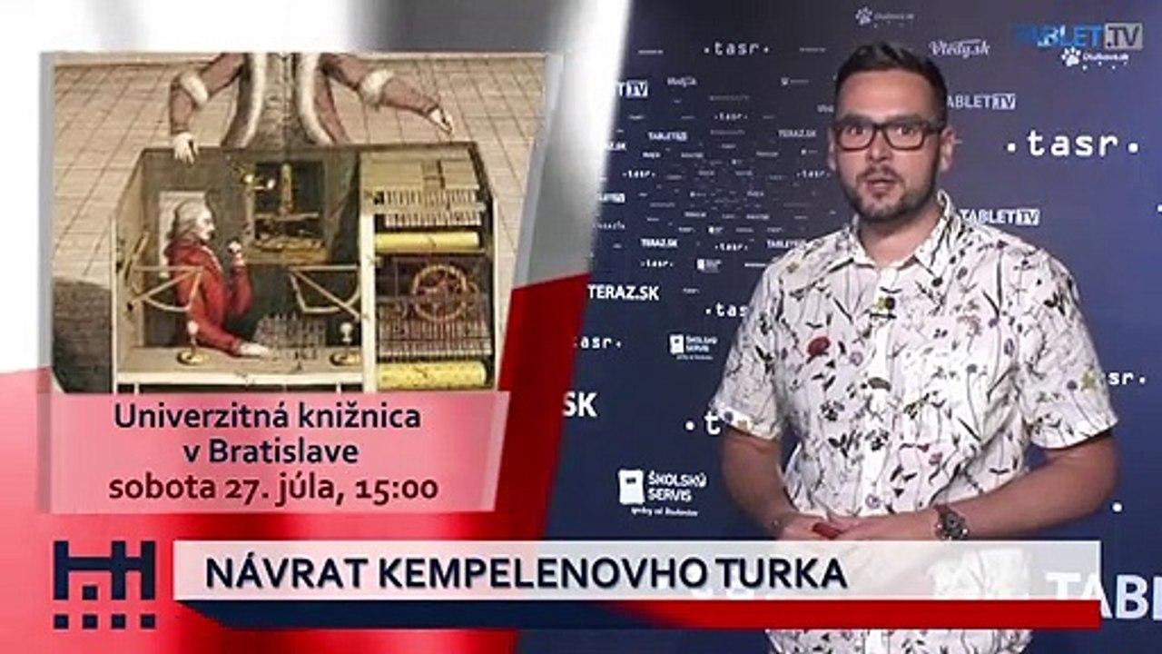 POĎ VON: River Show a Návrat Kempelenovho Turka