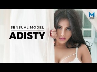 Bombastis! Model Hot ADISTY All Out! - Male Indonesia