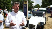 Citroën Collector's Reunion in Paris - Xavier Crespin, Directeur Général Citroën Héritage