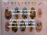 Minnie Mouse Nails! - Stickers Nail Designs